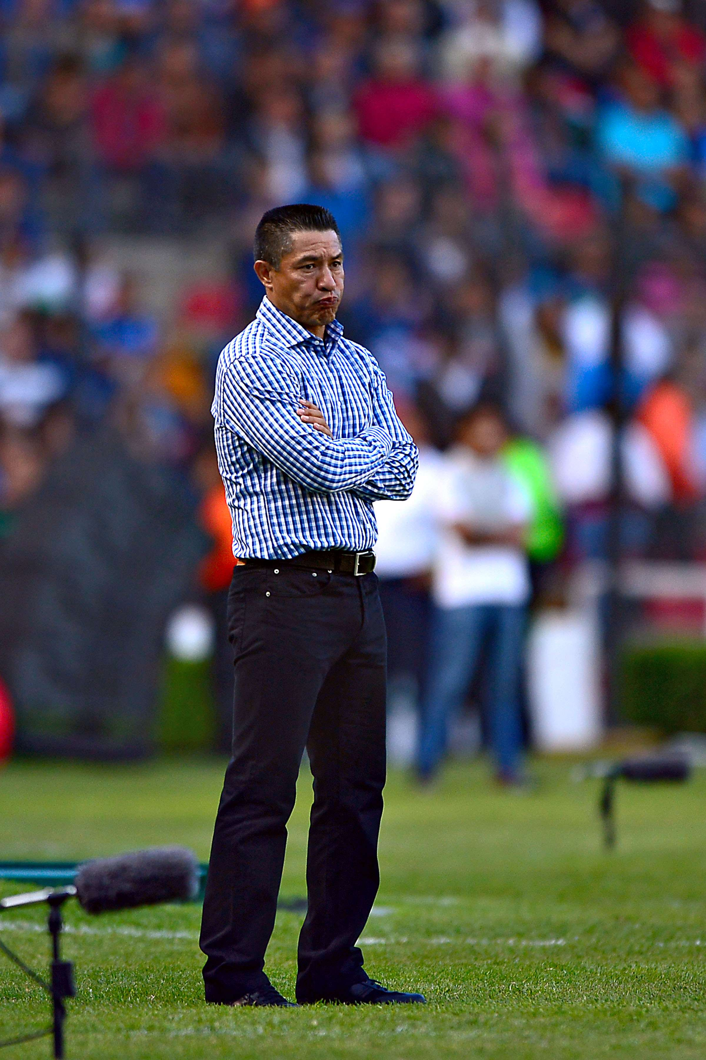 Nacho Ambriz, director técnico de los Gallos Blancos de Querétaro. Foto: Mexsport