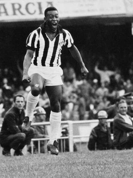 Pelé jugó en Santos de 1956 a 1974. Foto: Getty Images