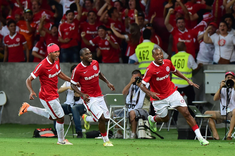 Fabrício marcou gol no último minuto para o Inter Foto: Vinicius Costa/Futura Press