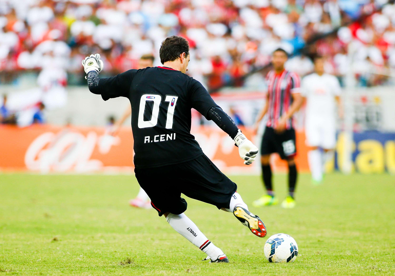 Rogério Ceni está nos últimos jogos pelo São Paulo Foto: Alexandre Schneider/Getty Images