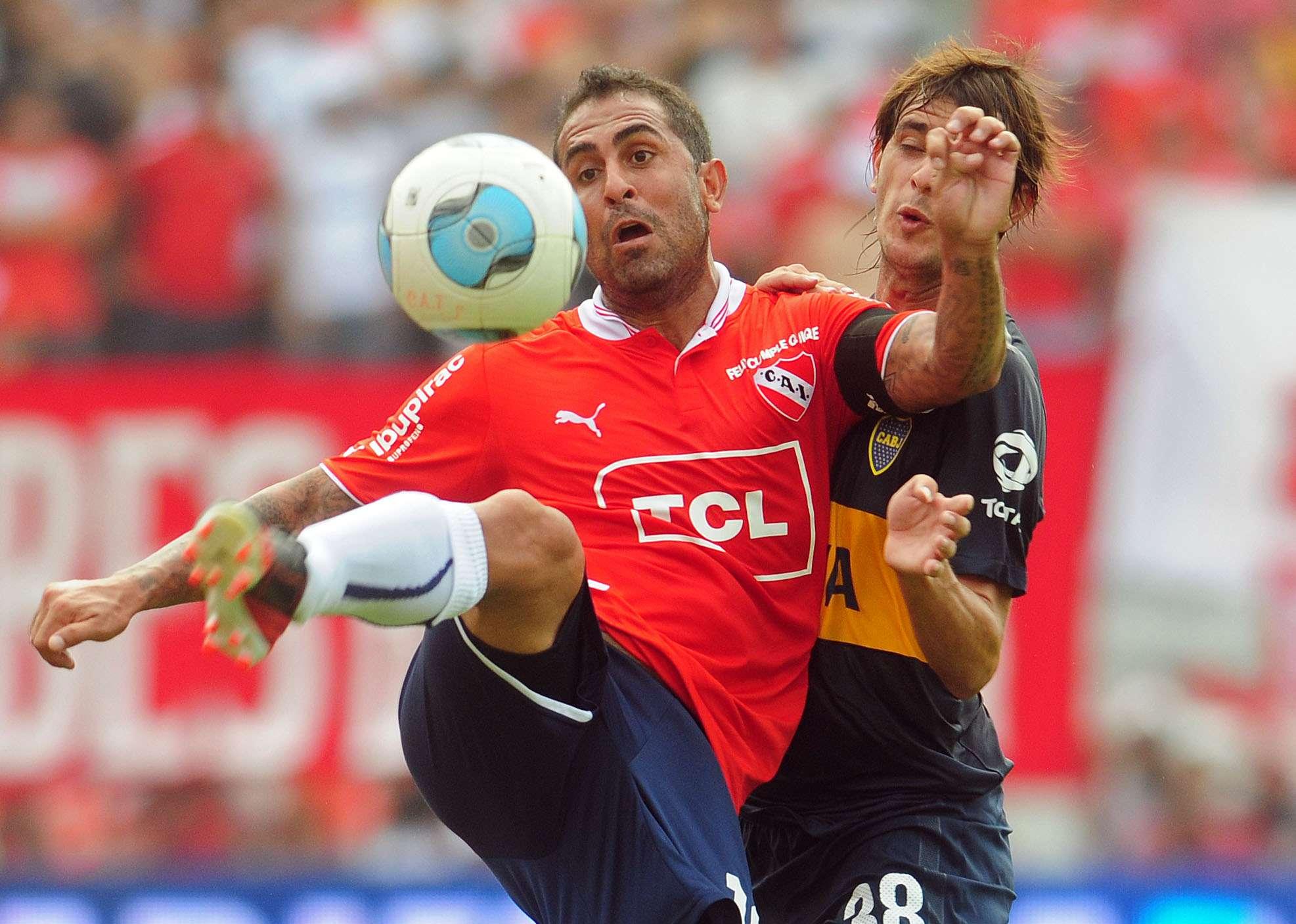 Boca recibe a Independiente pensando en River Foto: NA