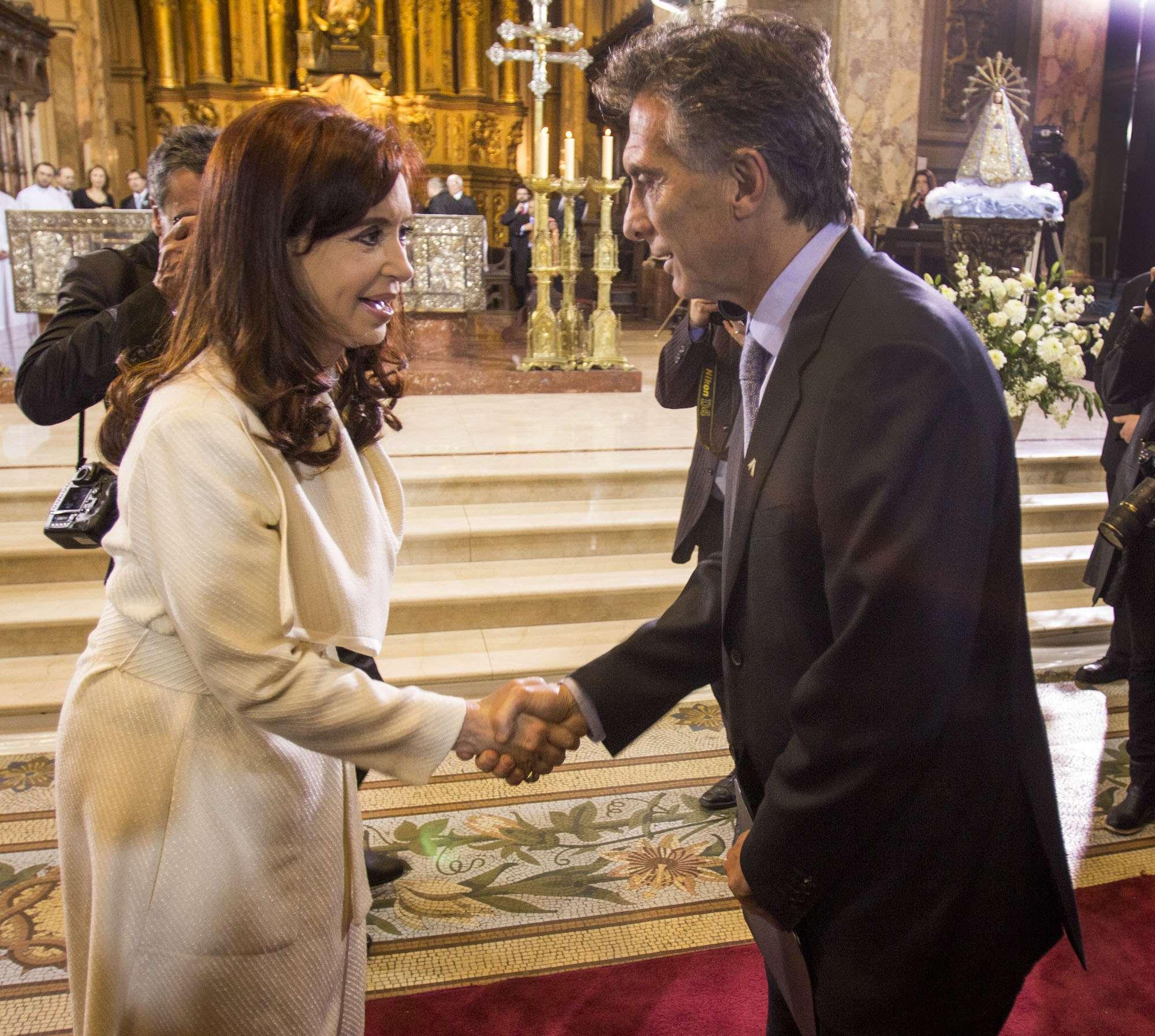 Cristina reaparecerá en público junto a Macri Foto: NA