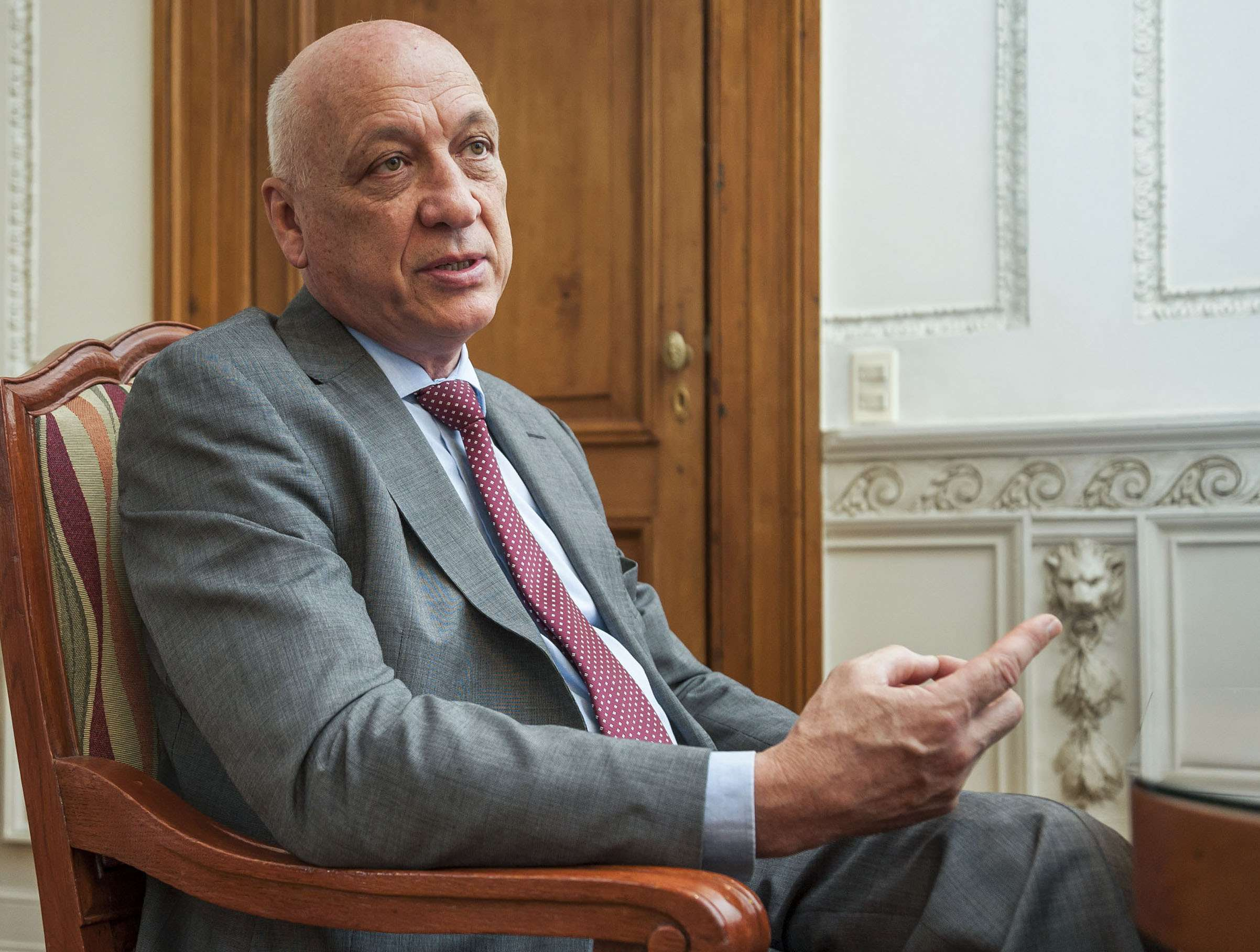 El gobernador de Santa Fe, el socialista Antonio Bonfatti Foto: NA
