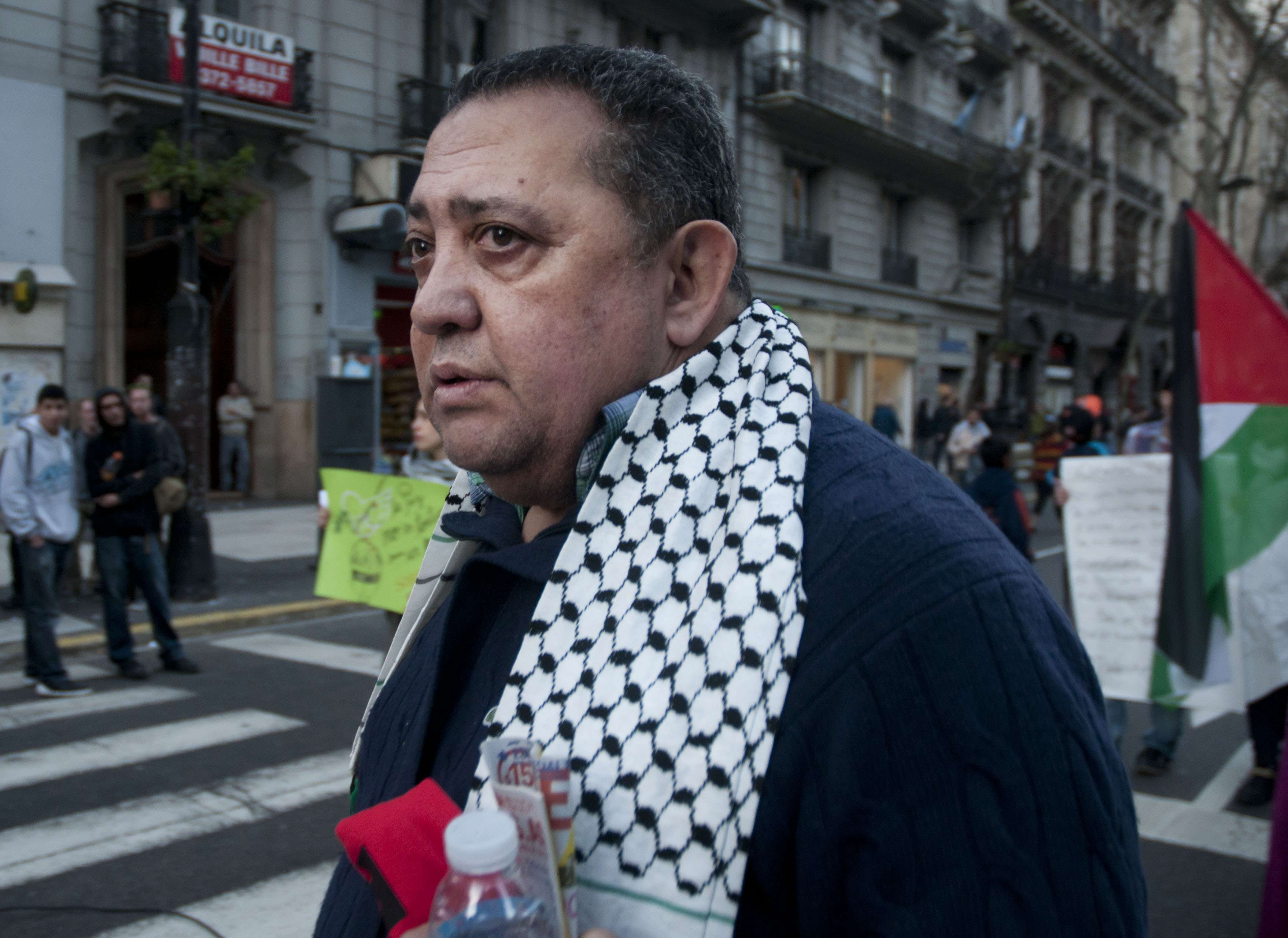 El dirigente kirchnerista Luis D'Elía Foto: NA