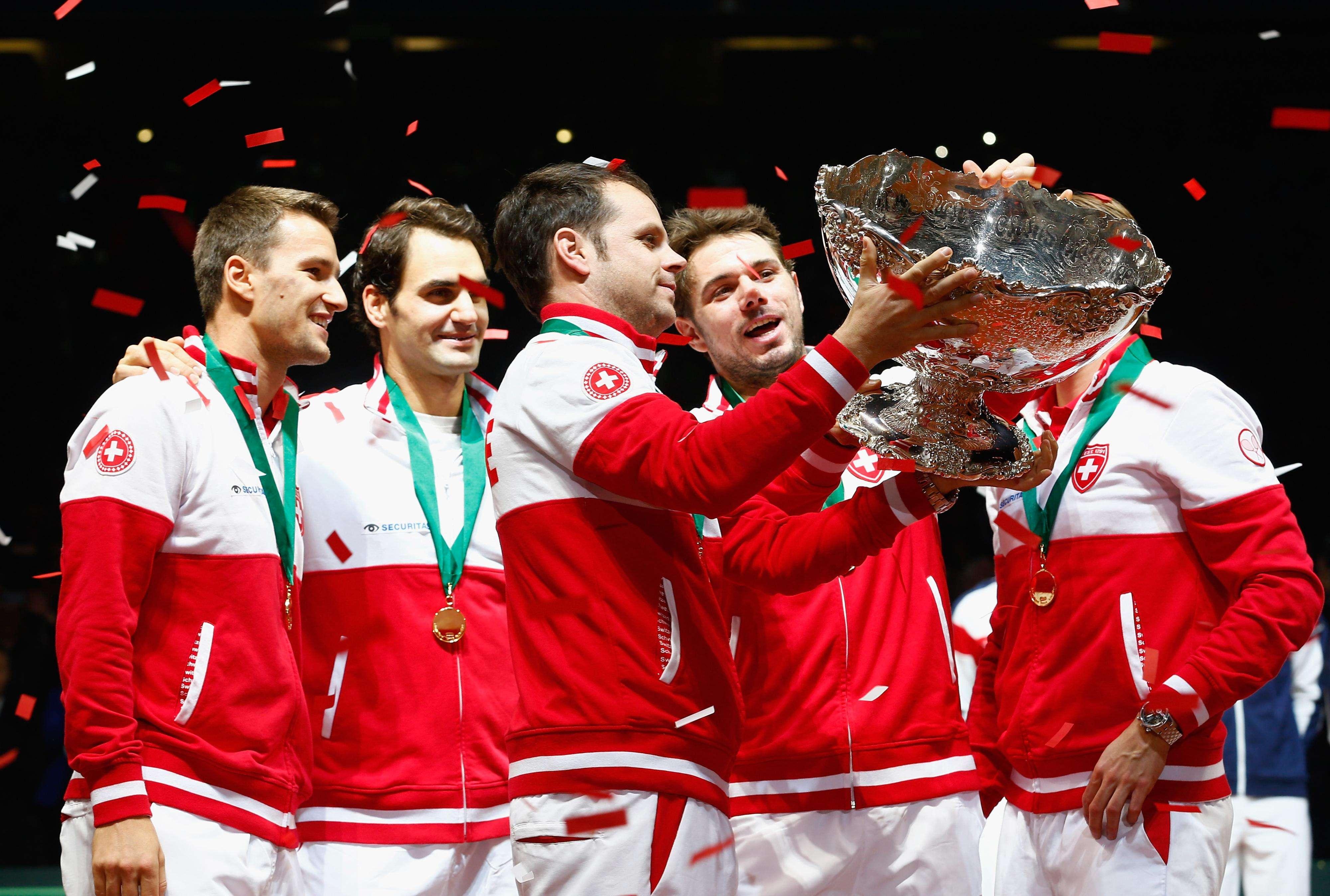 Suiza es campeón Copa Davis 2014 Foto: Getty
