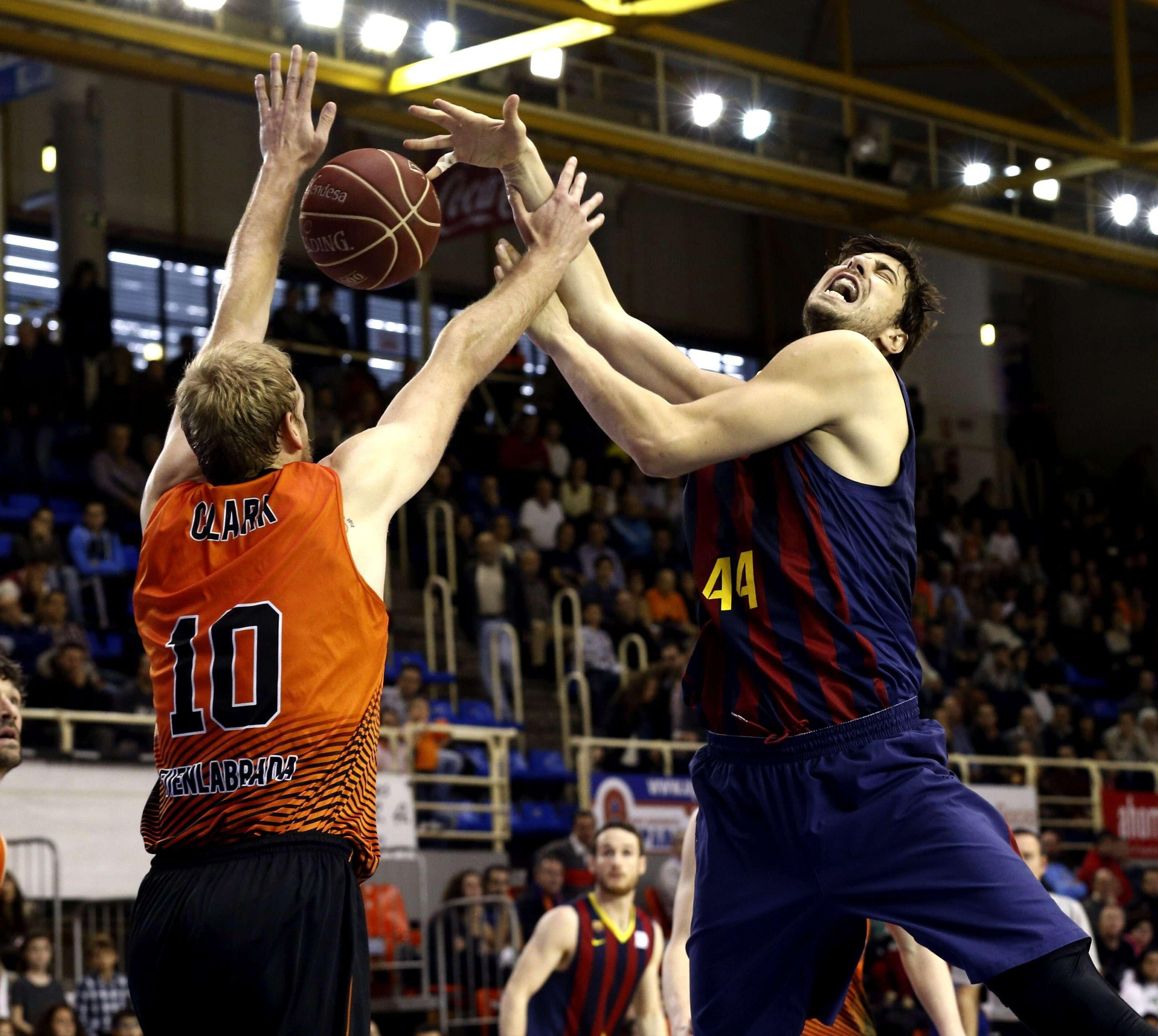 Fuenlabrada - Barcelona. Foto: EFE en español