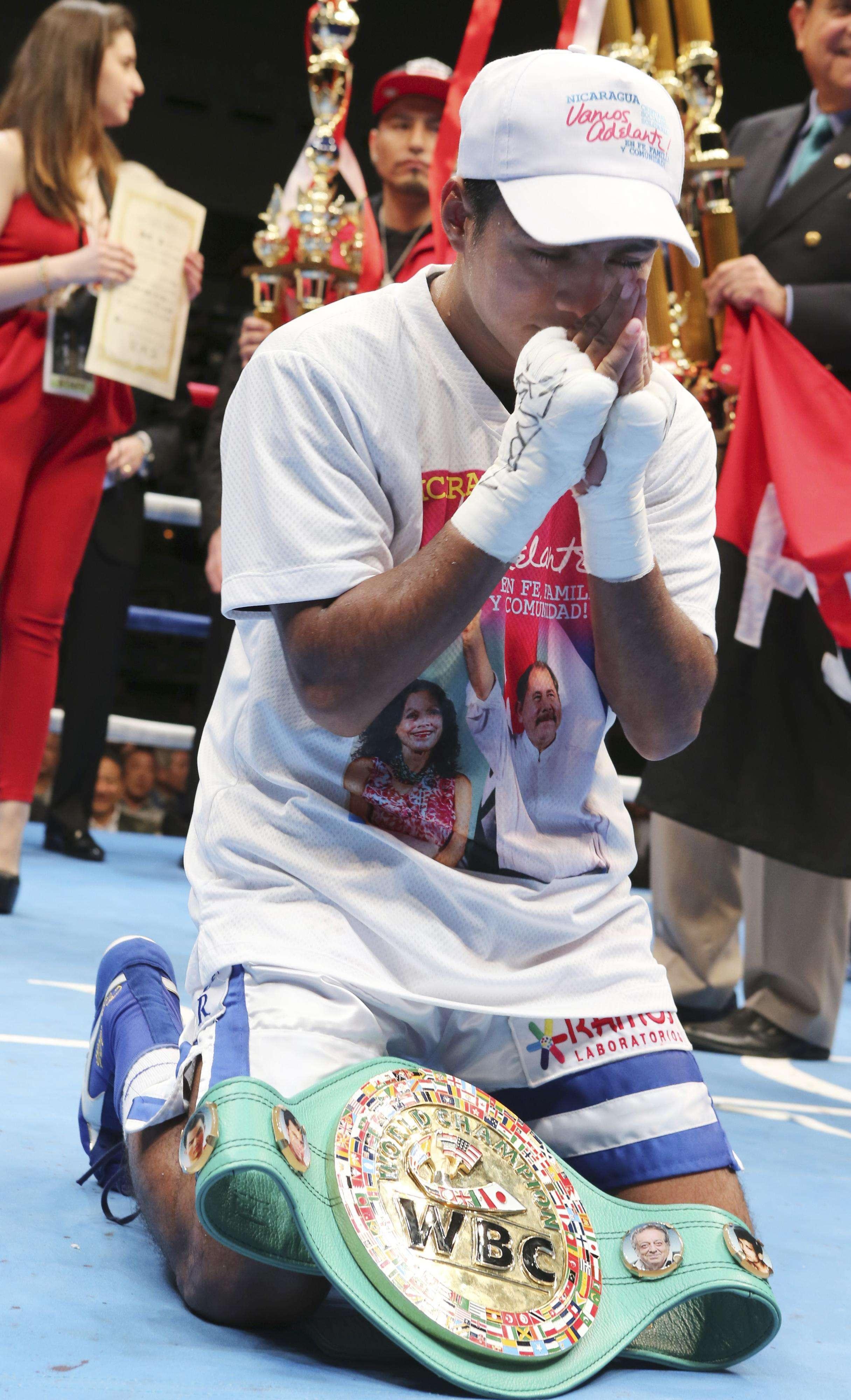 Román González es un temible peleador. Foto: AP