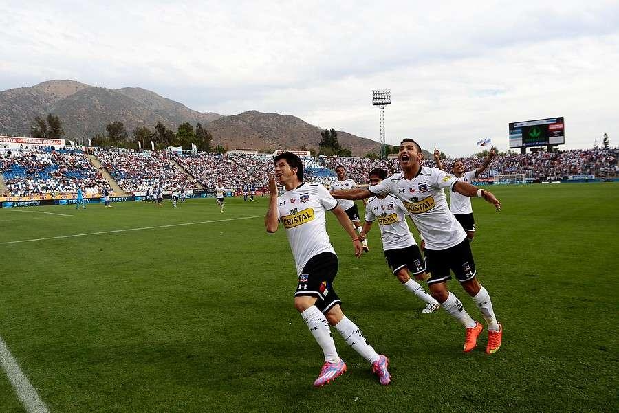 El partido se juega en San Carlos de Apoquindo. Foto: Agencia UNO