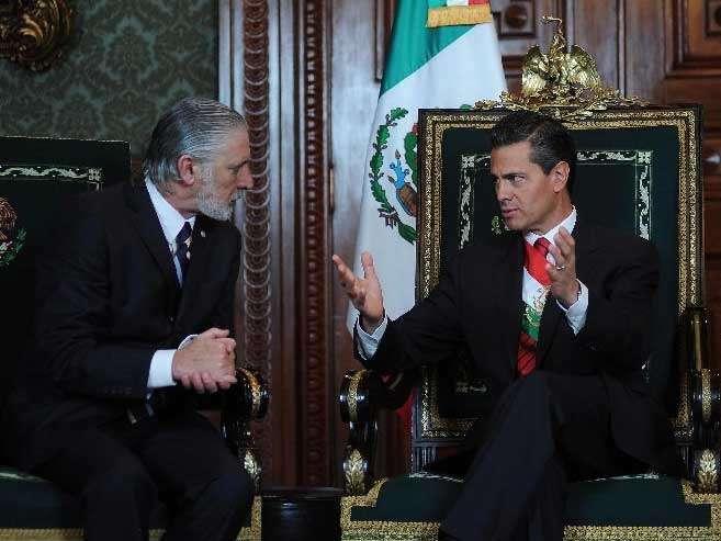 La Cancillería expresó que reiteraba la importancia de los vínculos históricos de amistad de México con el pueblo y gobierno de Uruguay. Foto: Embajada de Uruguay