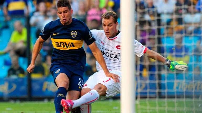 Boca-Independiente, un choque clásico en la Bombonera Foto: NA