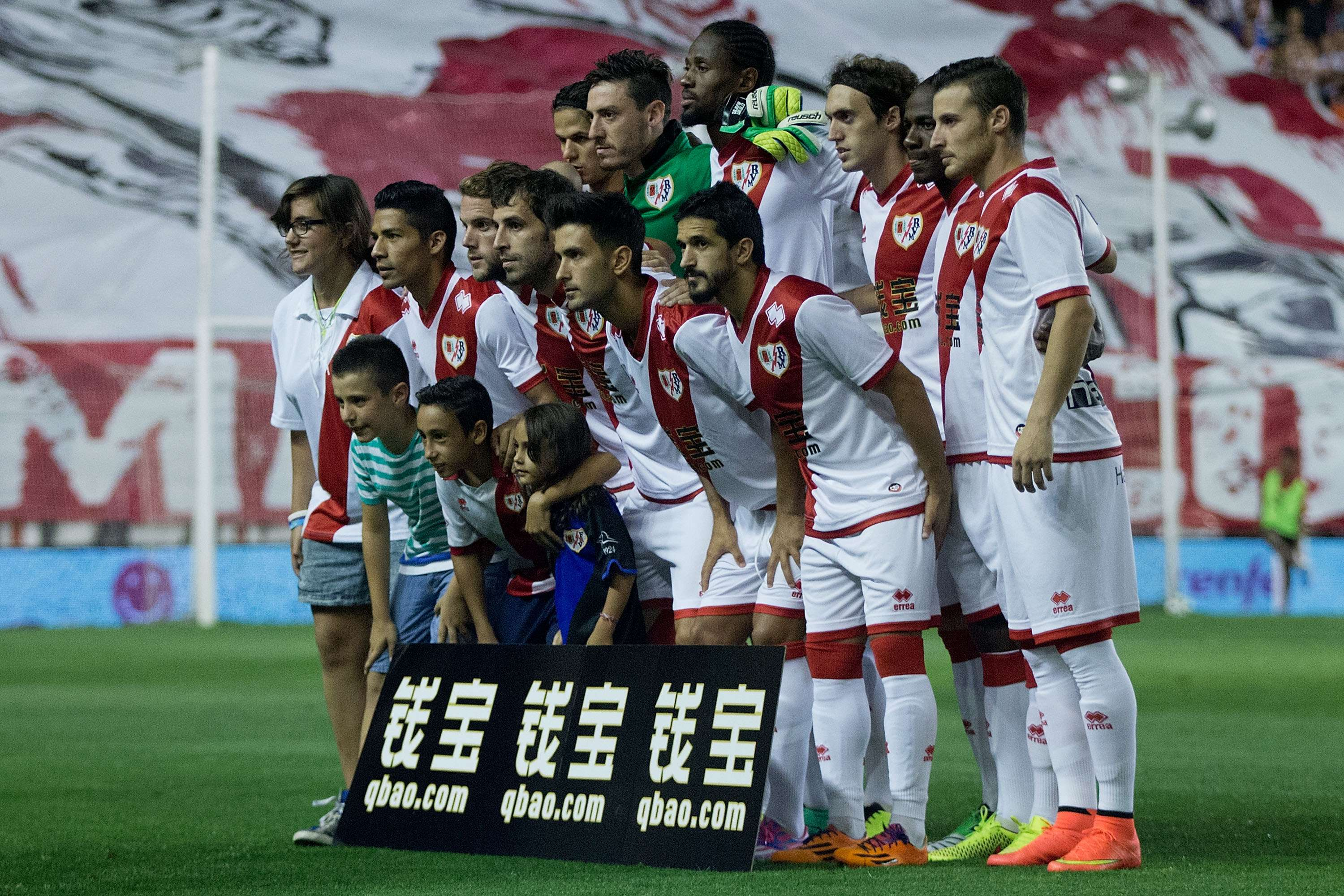 El equipo Rayo Vallecano se unió a una noble causa. Foto: Getty Images