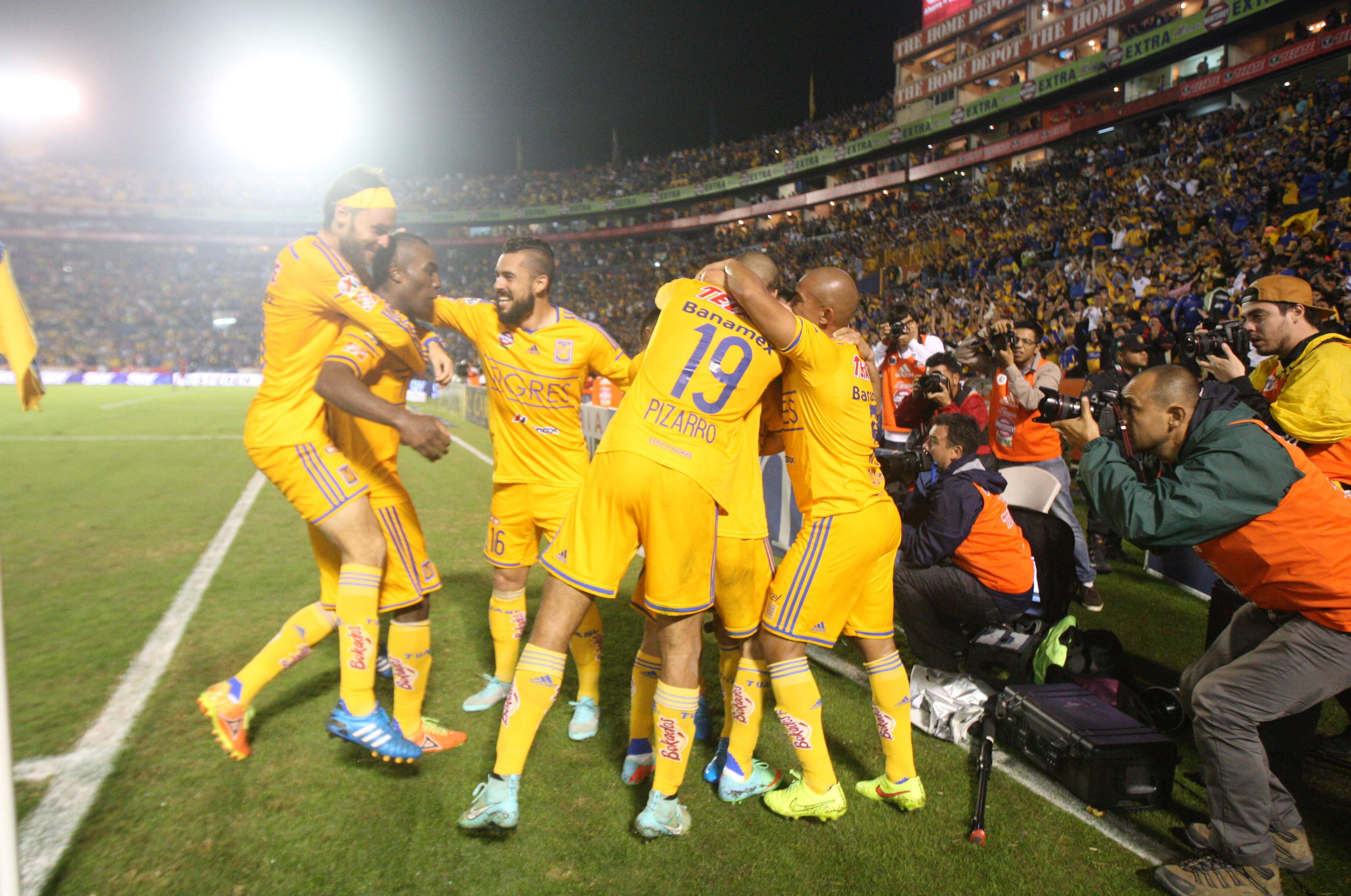 Tigres se declaró listo para la Fiesta Grande. Foto: Mexsport