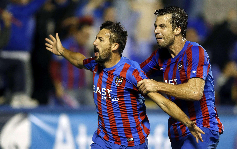 Morales marcou gol da vitória do Levante sobre Valencia Foto: Kai Fosterling/EFE