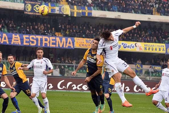 Márquez jugó su décimo partido como titular con el Hellas. Foto: Getty Images