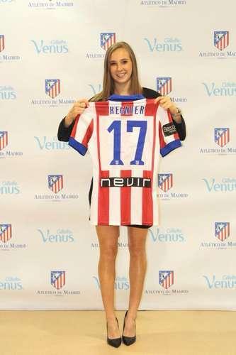 Juega en el Atlético Madrid B. Foto: Tomada de Facebook Nicole Regnier