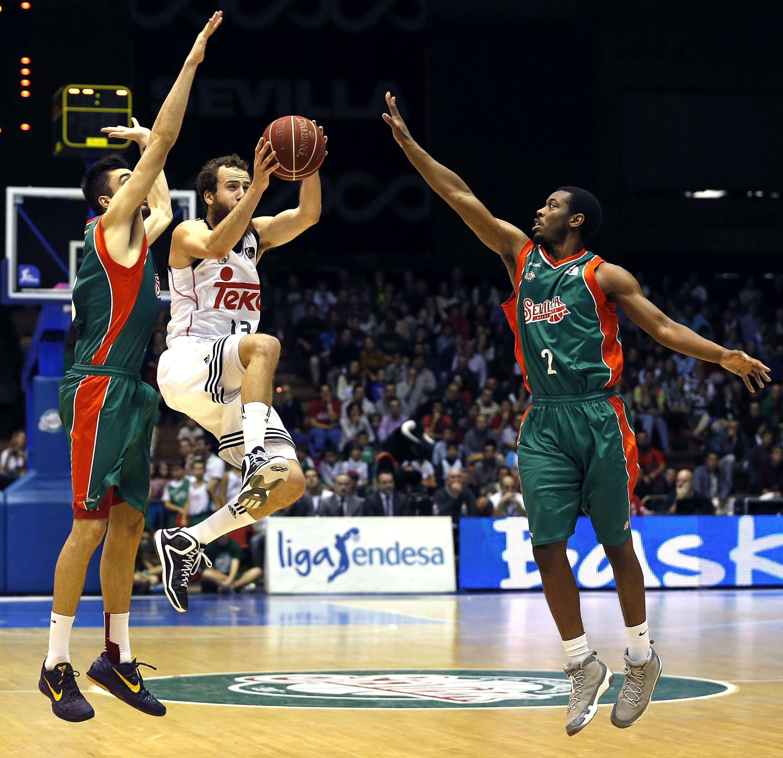 Baloncesto Sevilla - Real Madrid. Foto: EFE en español