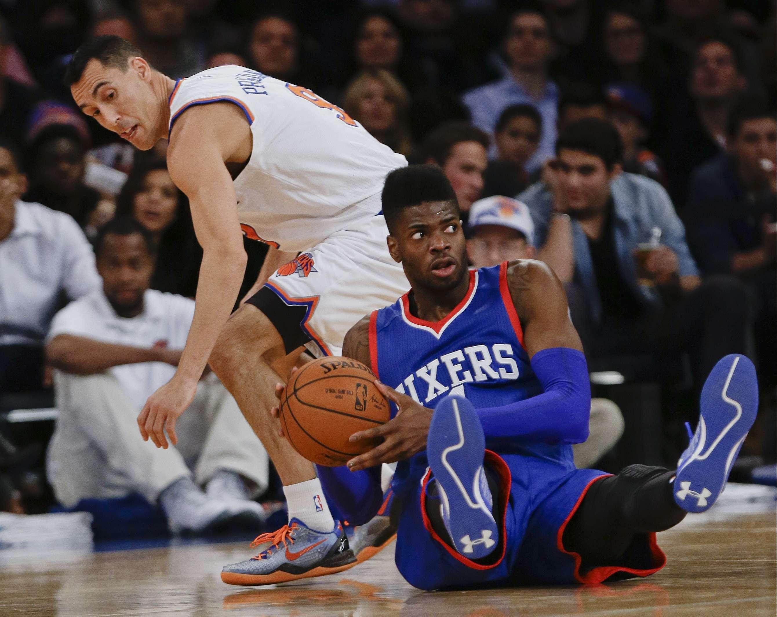Los Sixers son el único equipo sin victoria en la NBA. Foto: AP