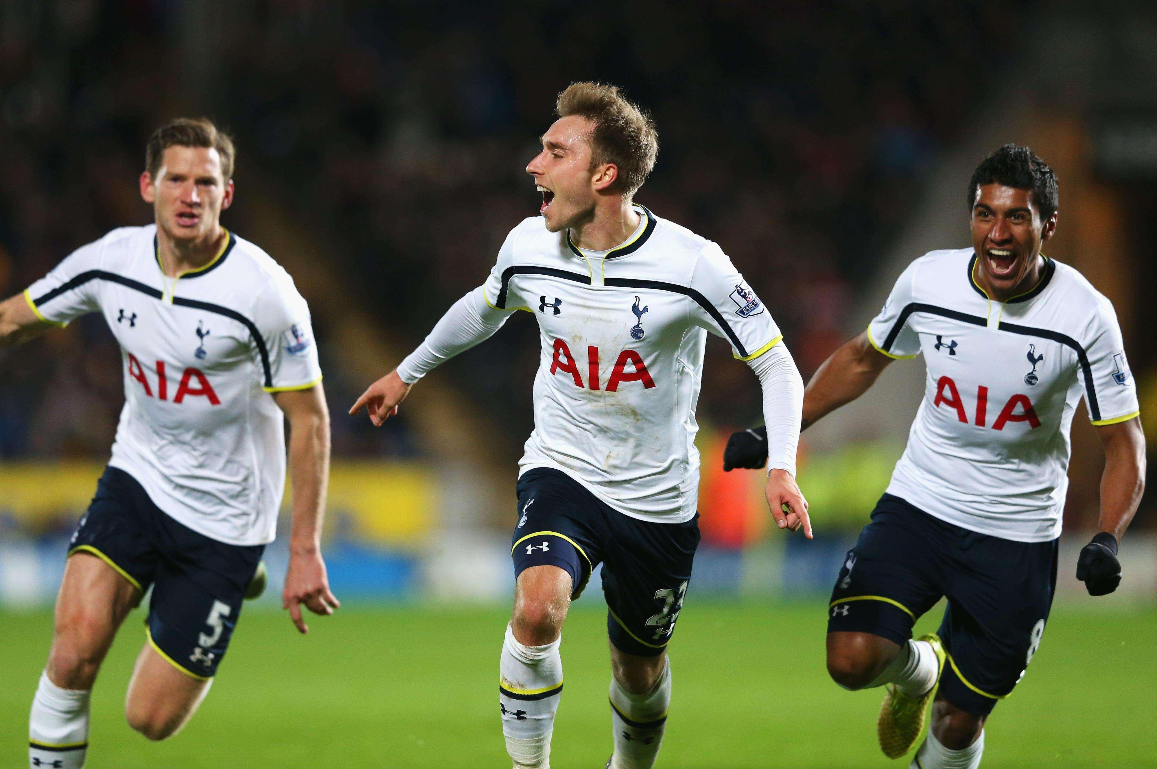 Tottanham ganhou com gol no último minuto Foto: Alex Livesey/Getty Images