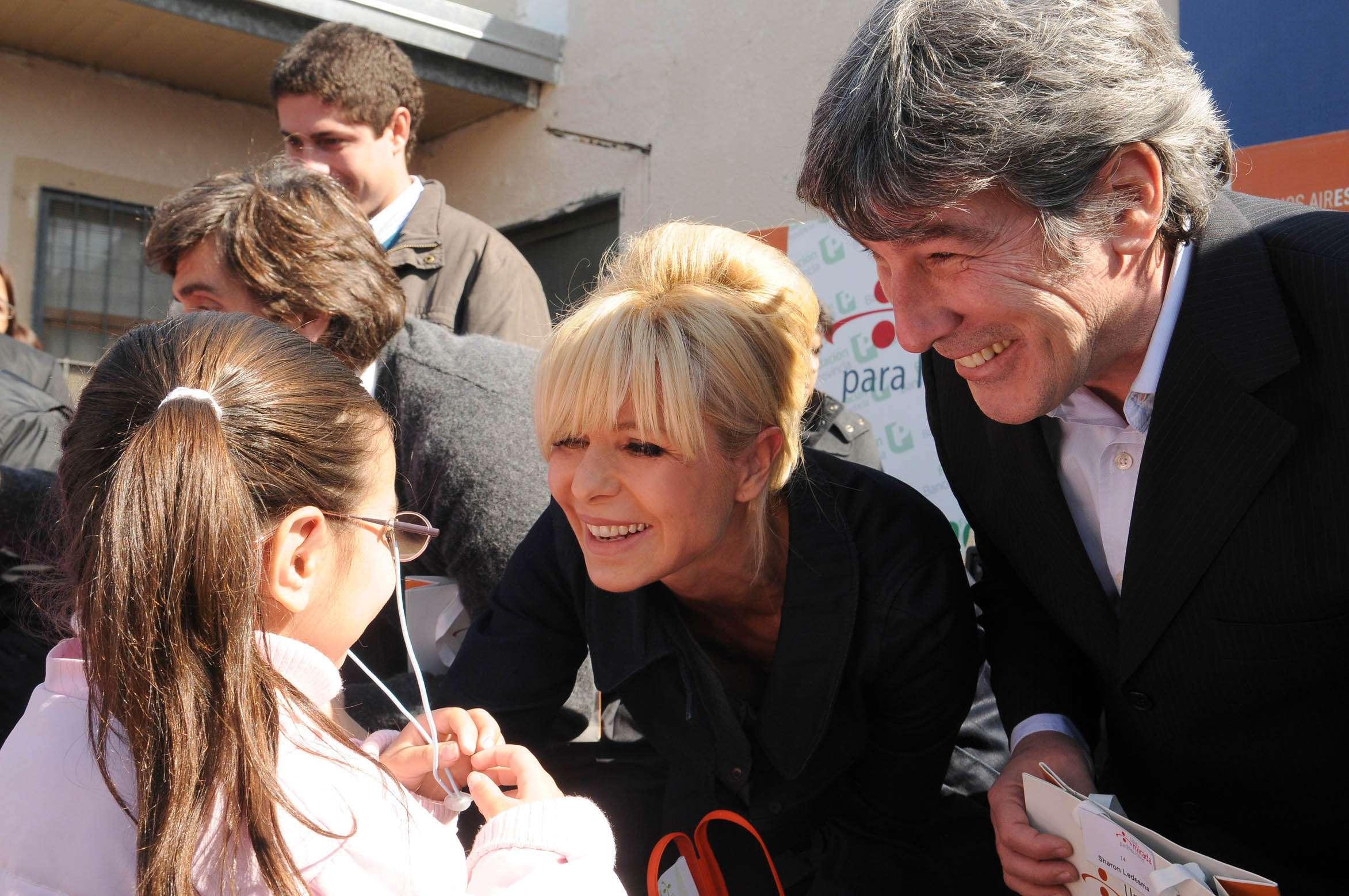"""El humorista José María """"Pachu"""" Peña ya participó en actos junto a Karina Rabollini, esposa de Daniel Scioli. Foto: NA"""