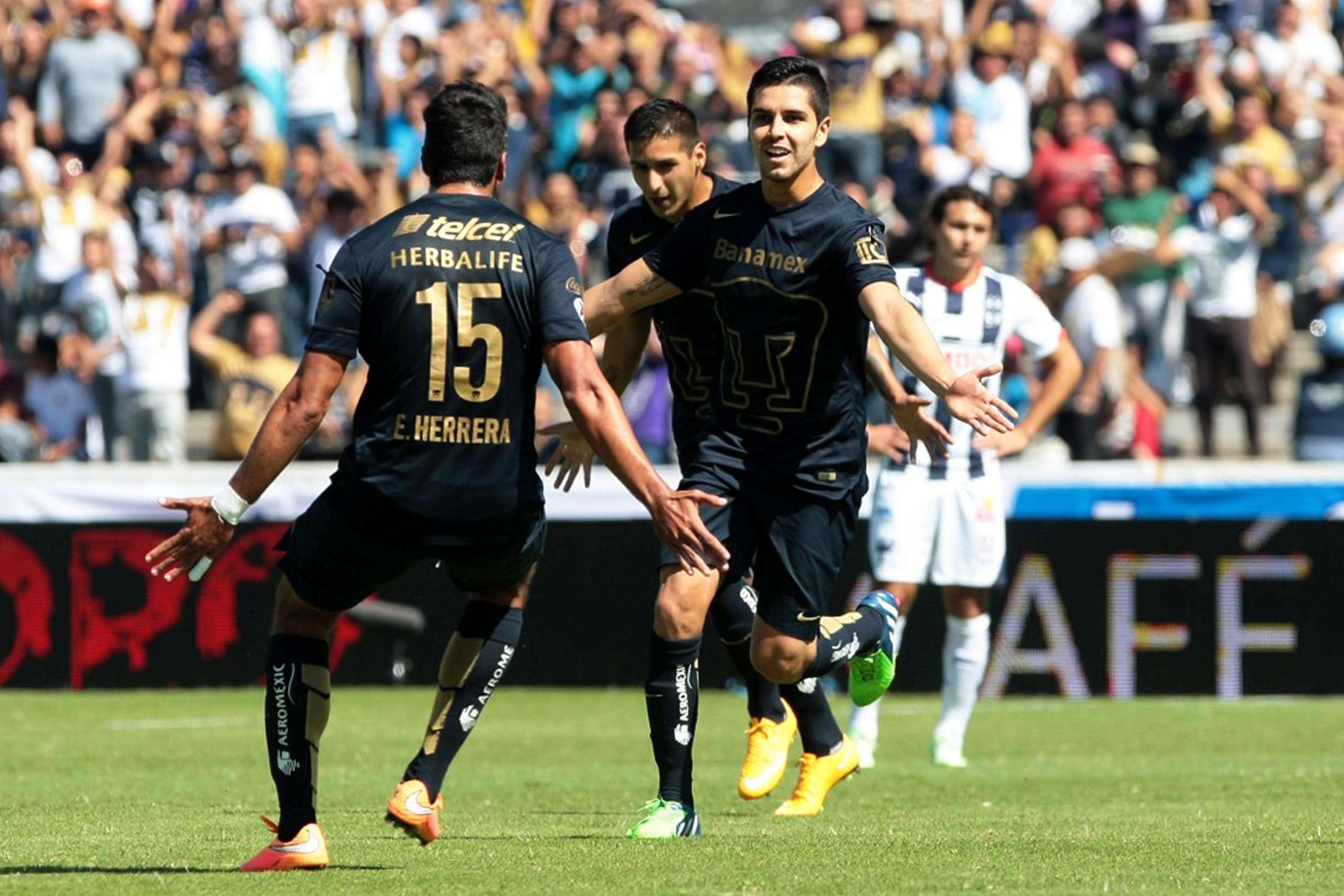 Pumas llegará motivado al 'clásico' ante América. Foto: Mexsport