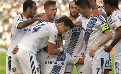 LA Galaxy Foto: AP en español