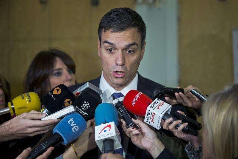 El secretario general del PSOE, Pedro Sánchez. Foto: Emilio Naranjo/EFE en español