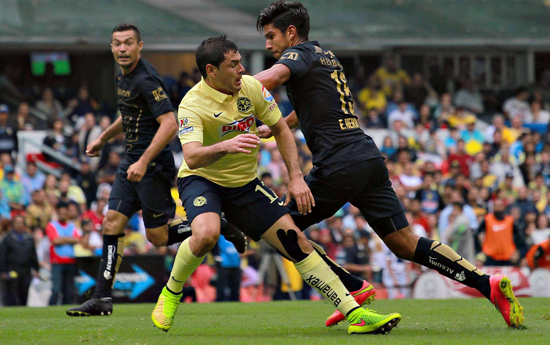 Pumas derrotó 1-0 a América en el duelo de temporada regular del Apertura 2014. Foto: Imago7