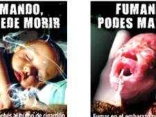 Advertencias gráficas en paquetes de cigarrillos en Uruguay Foto: BBC Mundo/Copyright