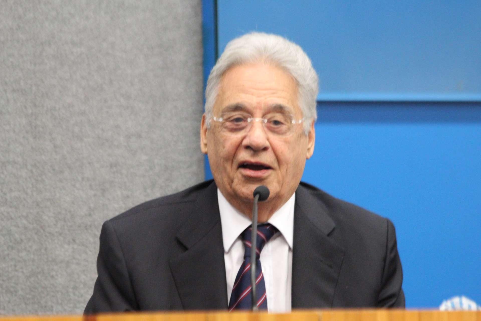 Ex-presidente, Fernando Henrique Cardoso é professor aposentado da USP desde 1968 Foto: Janaina Garcia/Terra
