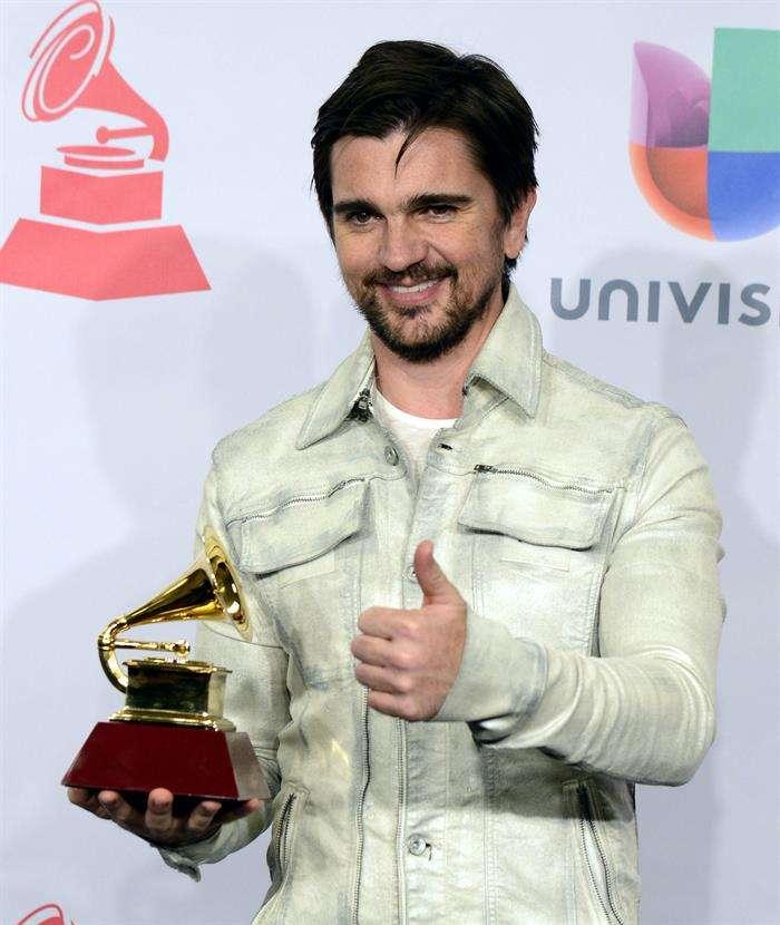 Juanes, en la ceremonia de los Latin Grammy 2014 Foto: EFE en español