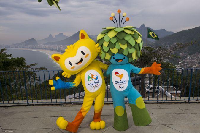 Las mascotas de Río 2016 ya están listas, ahora falta los nombres. Foto: Sitio web rio2016.com