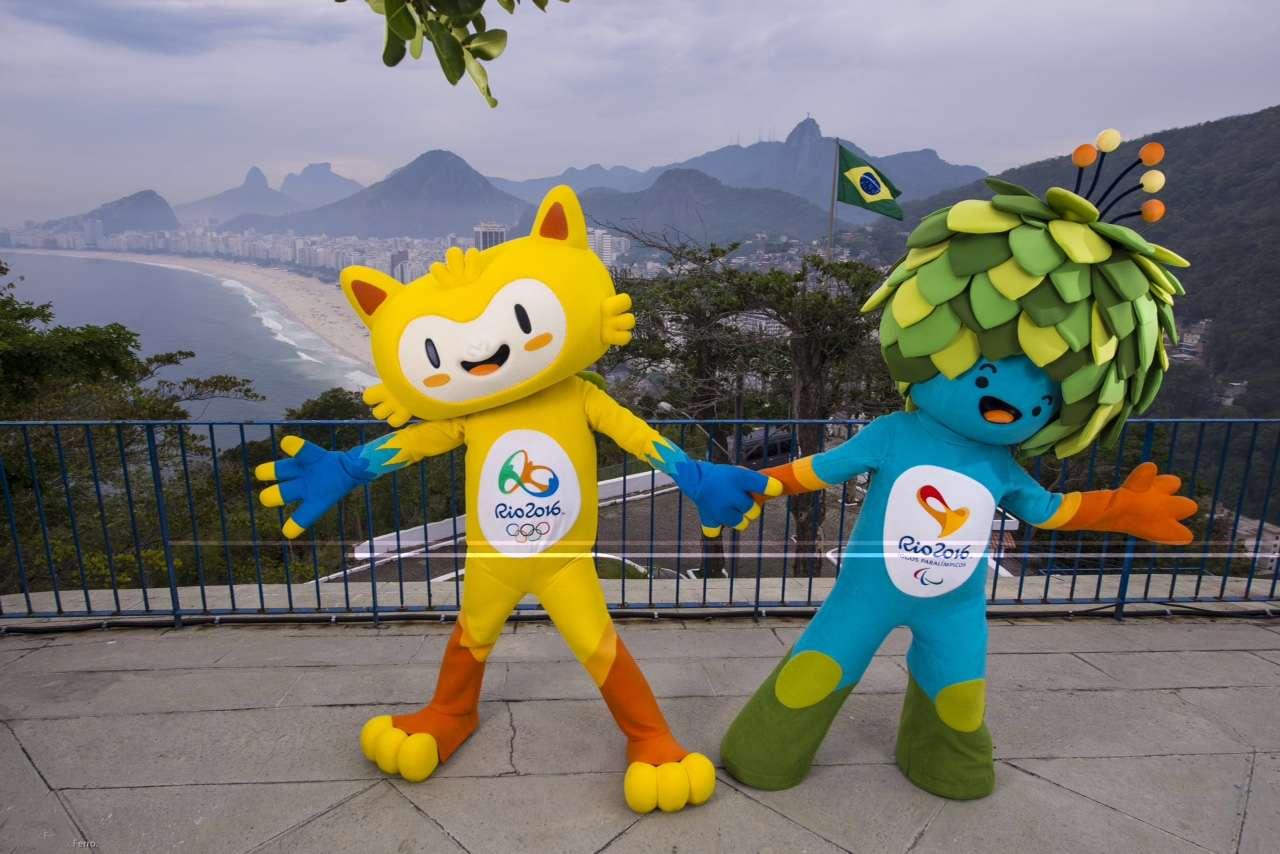 Rio apresentou mascotes para os Jogos Olímpicos de 2016 Foto: Divulgação