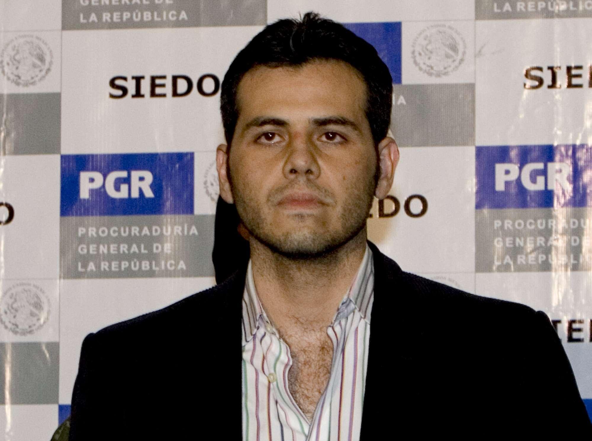 Vicente Zambada Niebla, 'El Vicentillo', dio información a la Administración Antidrogas de Estados Unidos (DEA) para capturar a Joaquín 'El Chapo' Guzmán, líder del Cártel de Sinaloa. Foto: AP en español