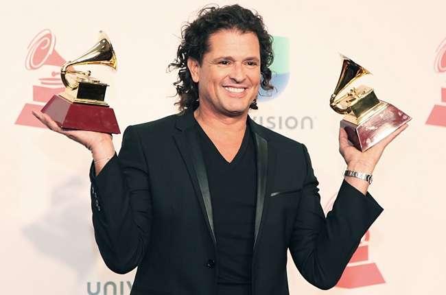Carlos Vives en los Latin Grammy Foto: Archivo particular