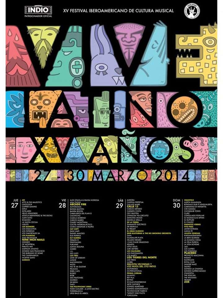Vive Latino Foto: Vive Latino