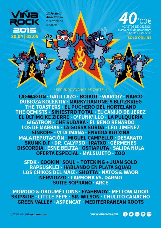 Foto: Página oficial de Viña Rock 2015