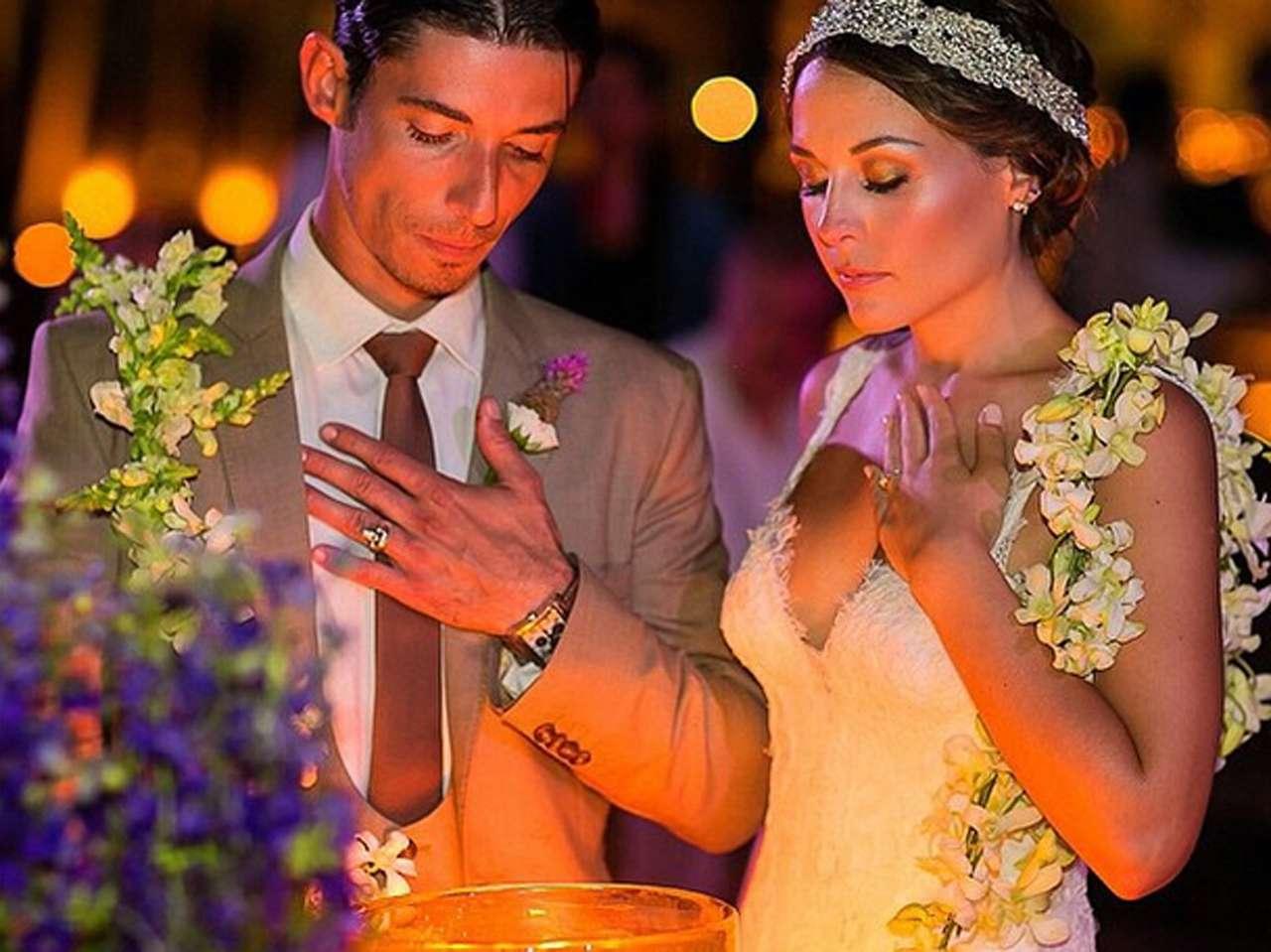 La actriz Zuria Vega y el actor Alberto Guerra ¡ya son marido y mujer! Foto: Instagram.com/zuriavvega