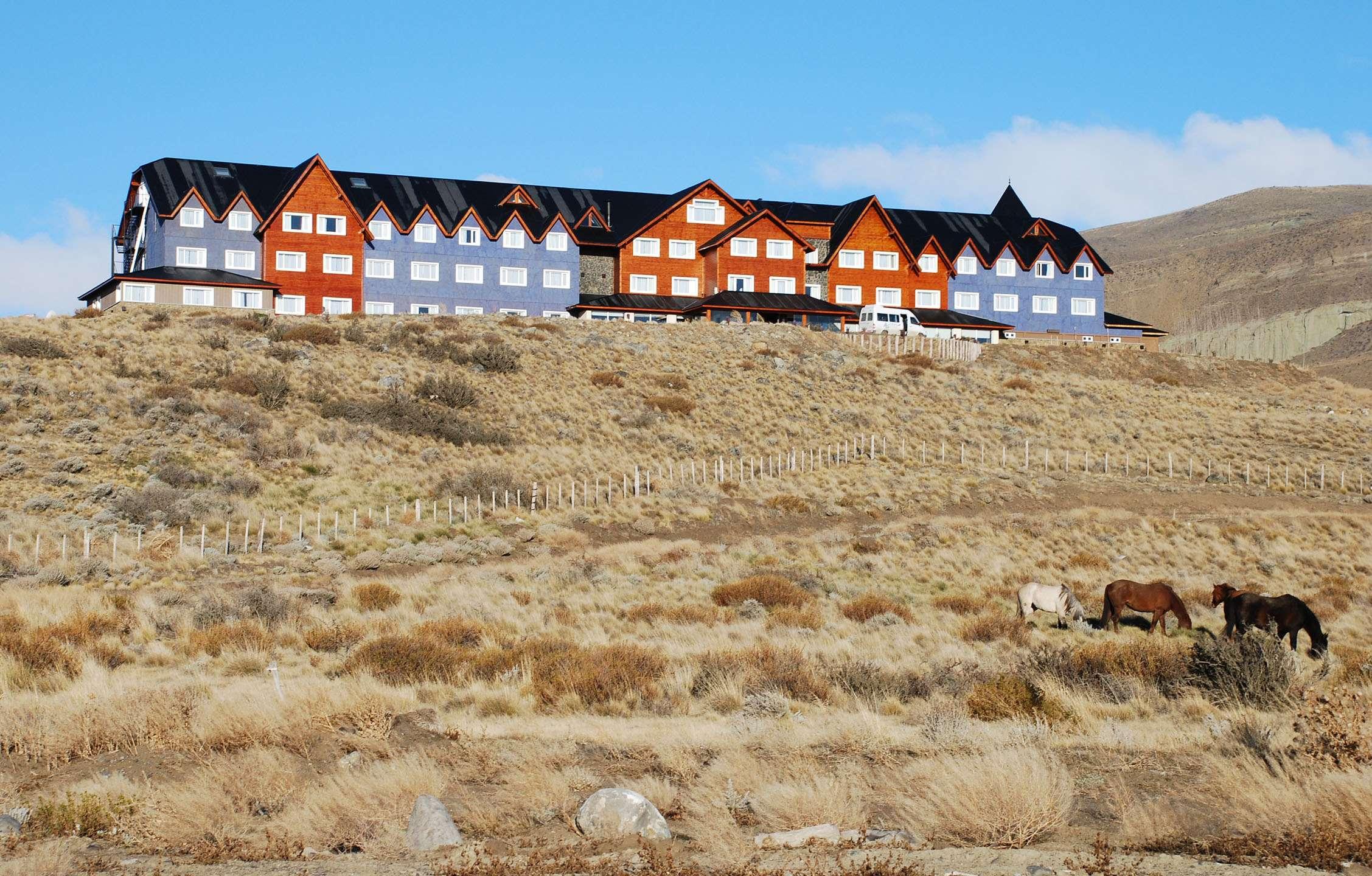 El lujoso hotel Alto Calafate, en la provincia de Santa Cruz, en la Patagonia, del que Cristina Fernández es accionista. Foto: NA