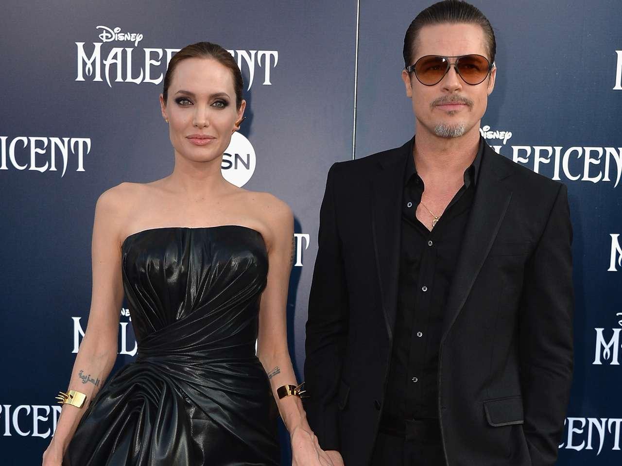 A tres meses de casados, Angelina y Brad Pitt son captados discutiendo. Foto: Getty Images