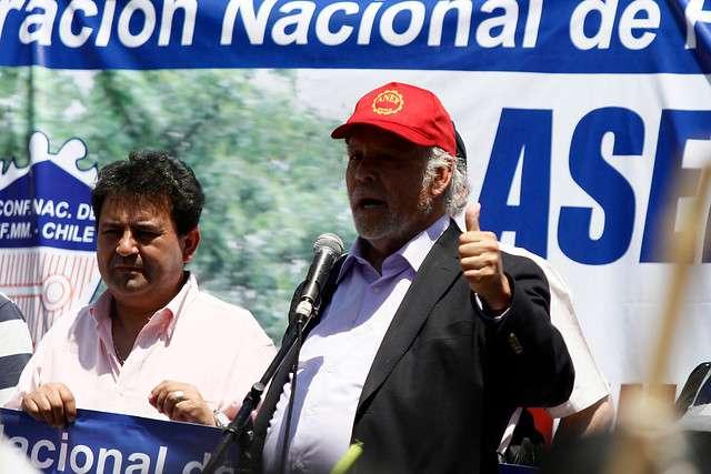 Presidente de la Anef Raúl de la Puente Foto: Agencia UNO