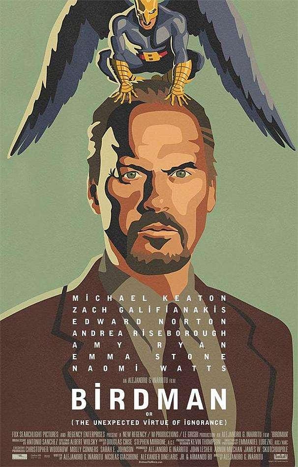 'Birdman' de Alejandro González Iñárritu, lidera nominaciones a los Spirit Awards 2015 Foto: Fox Searchlight Pictures