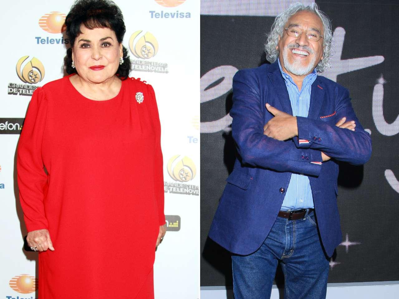El productor teatral pensó en Carmen Salinas y Rafael Inclán para sus personajes principales en 'Garibaldi'. Foto: Photo AMC