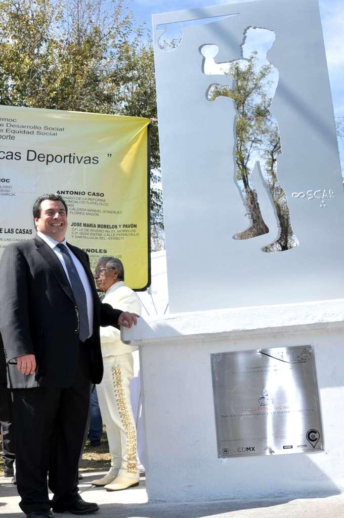 Mauricio Sulaimán, presidente del CMB, encabezó el evento. Foto: Alma Montiel/CMB