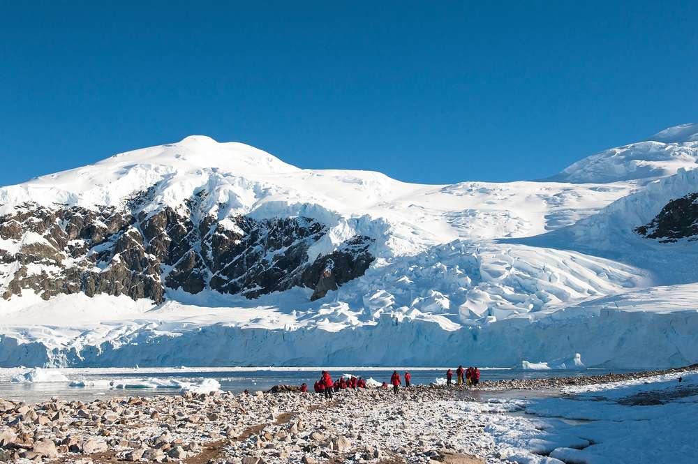Cruzeiro partirá em 20 de dezembro e terá Natal entre geleiras e Réveillon na Antártica Foto: axily/Shutterstock