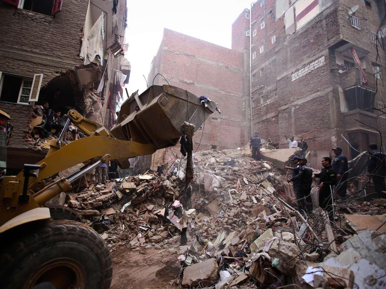 En la capital egipcia se han construido numerosos inmuebles sin tener en cuenta las reglas básicas de construcción Foto: AFP en español