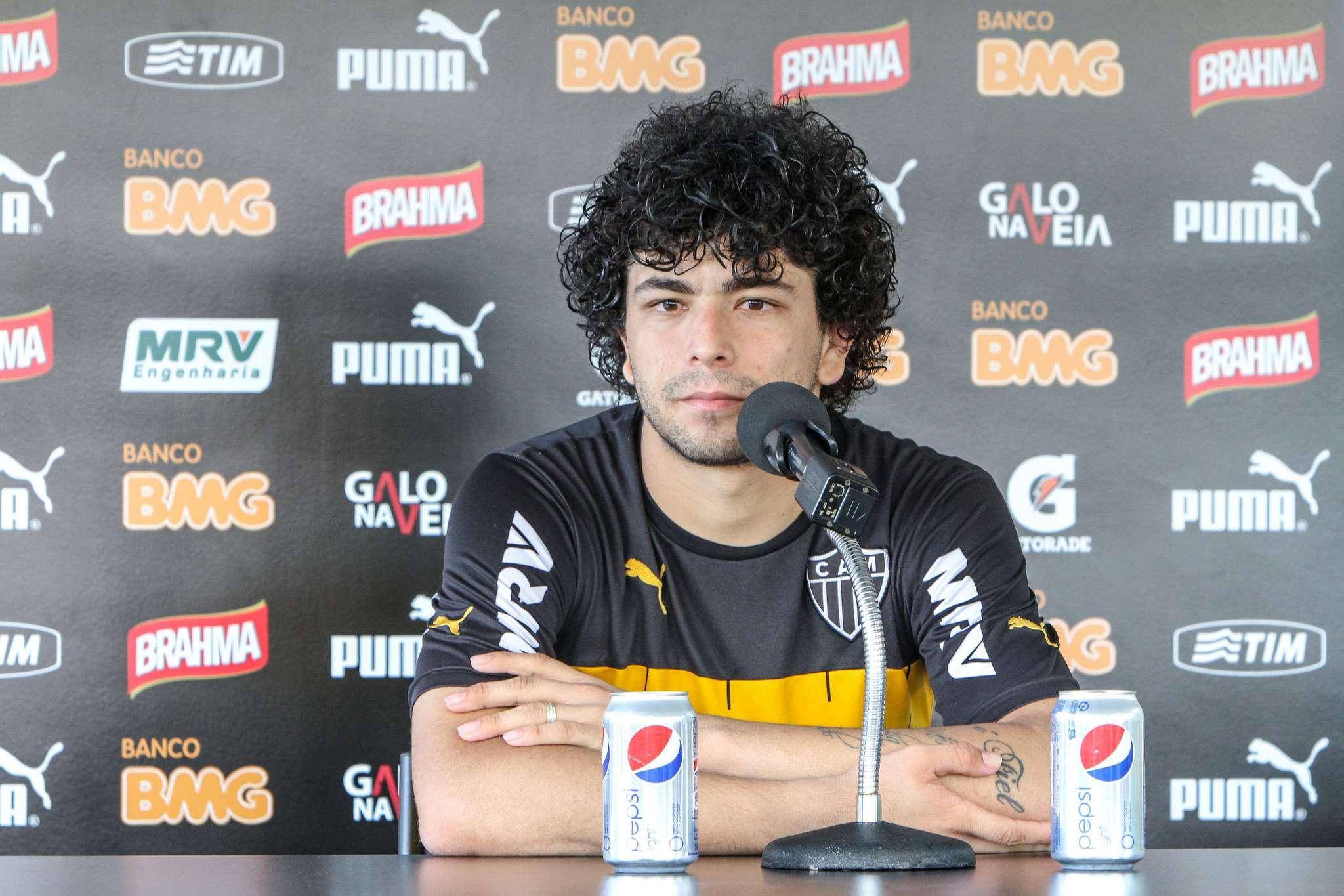 Luan é um dos queridinhos da torcida do Atlético-MG Foto: Bruno Cantini/Divulgação