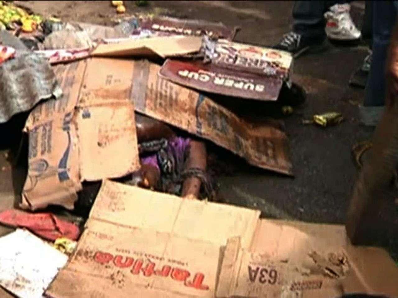 """Un responsable de la Agencia Nacional de Administración de Emergencias de Nigeria (NEMA) confirmó que """"muchas personas murieron"""", pero no dio un balance oficial. Foto: AFP/TVC NEWS"""