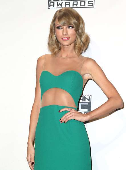Taylor Swift en los AMA Foto: Getty Images