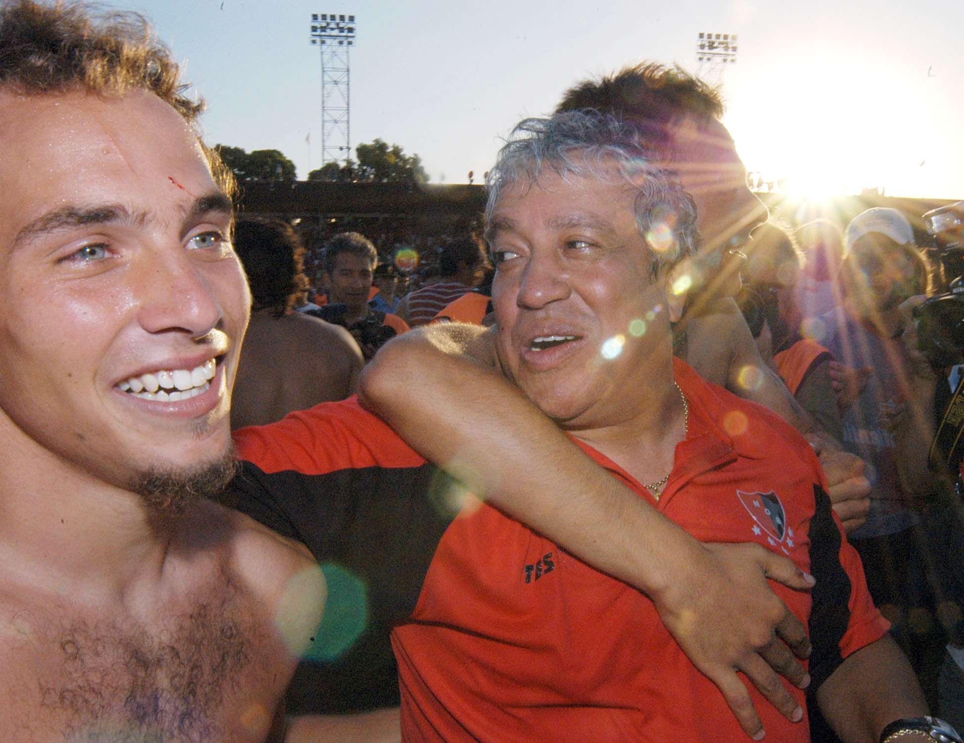 Américo Gallego fue campeón con Newell´s en 2004 Foto: NA