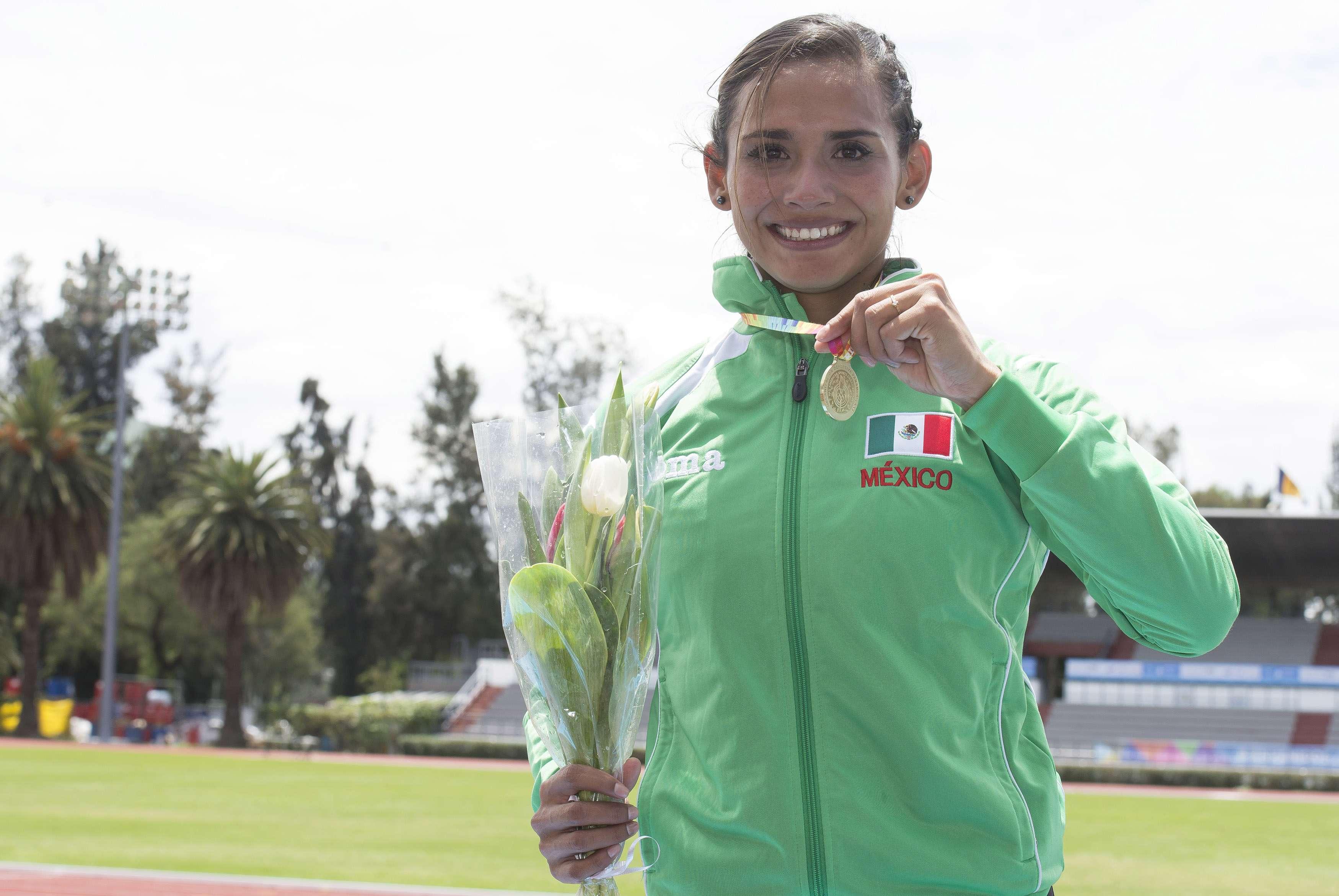 Zudikey Rodríguez da otro oro a México. Foto: Mexsport